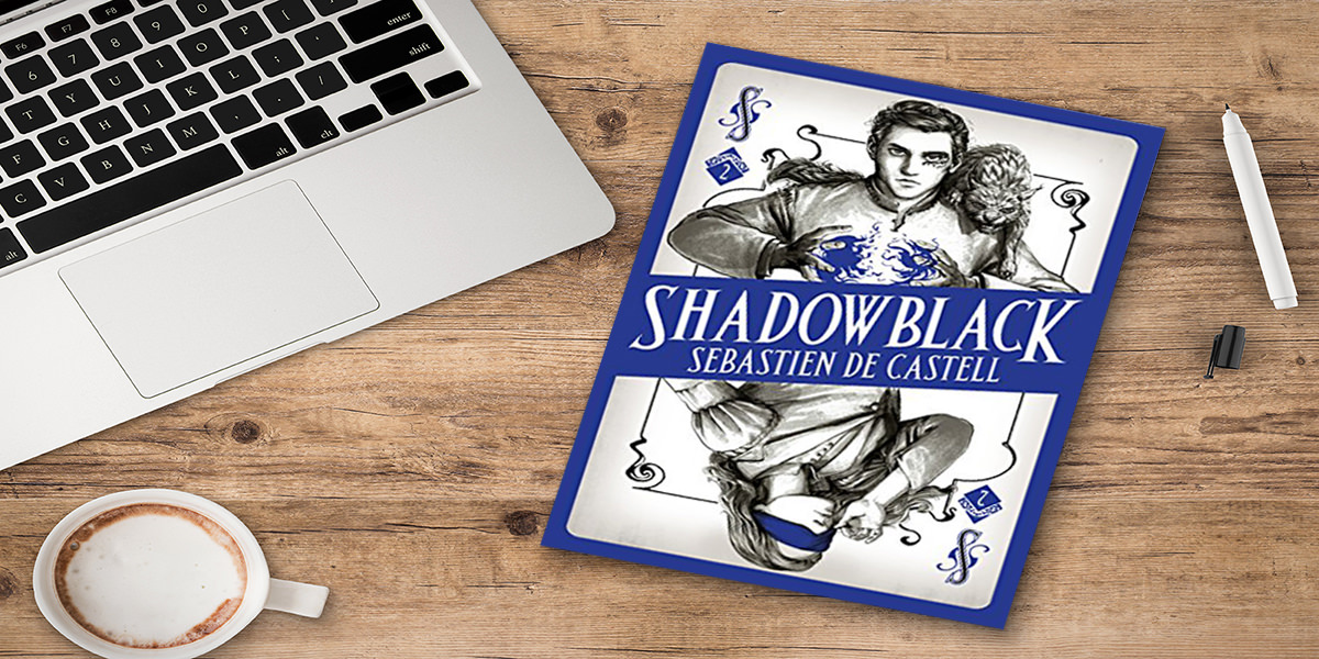 shadowblack sebastien castell book review